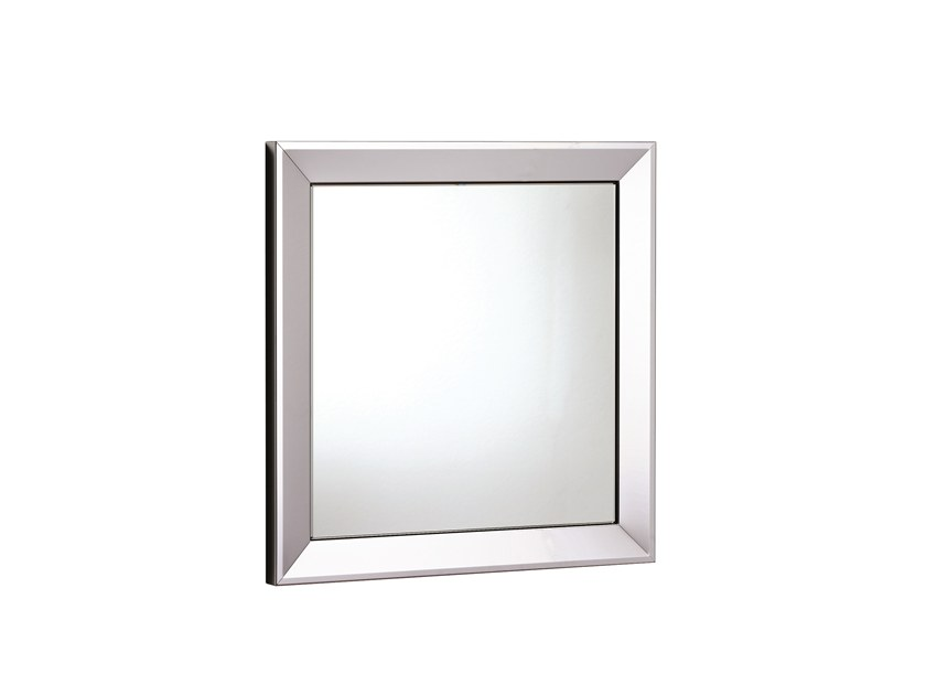 Square wall-mounted bathroom mirror ISIDE 518054242 | Square mirror by pomd'or