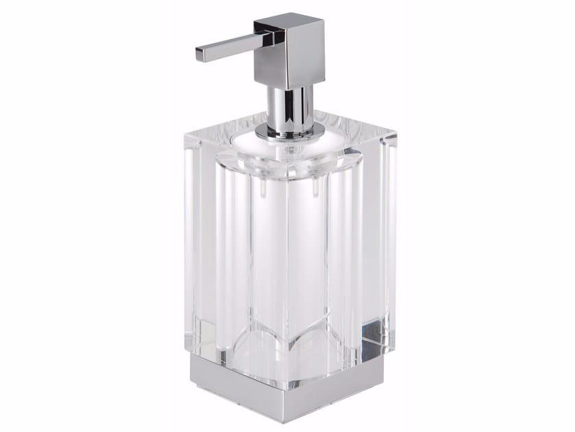 Glass liquid soap dispenser ISIDO | Liquid soap dispenser by LINEAG