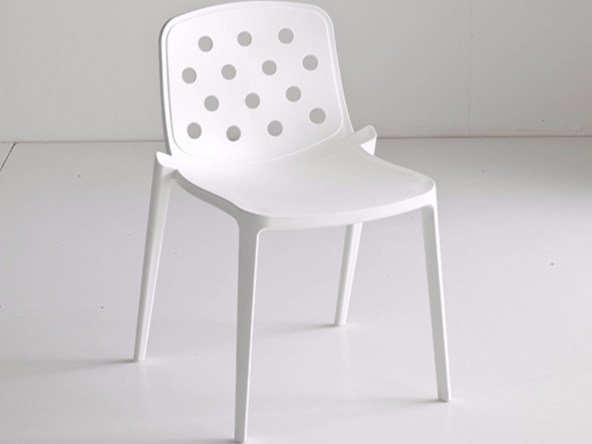 Stackable technopolymer chair ISIDORA | Chair by GABER