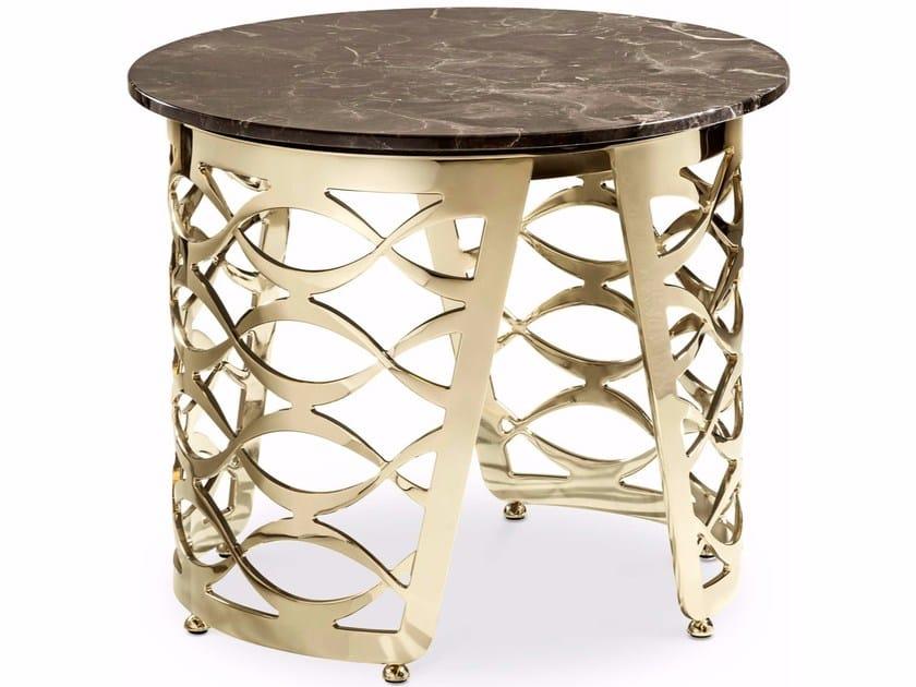 ISIDORO | Tavolino rotondo Collezione Isidoro By Cantori