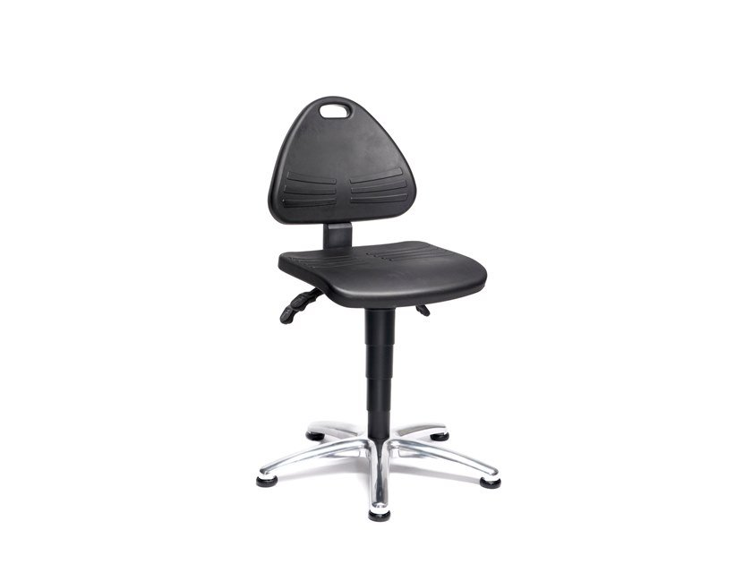 Work chair with 5-Spoke base ISITEC 9603 by bimos