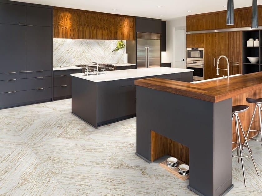 White-paste wall/floor tiles ISLANDIA GOLD by Absolut Keramika