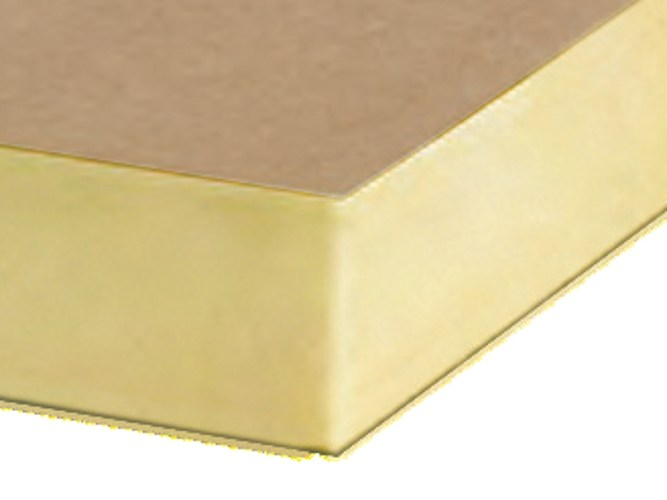 Polyurethane thermal insulation panel ISO-PIR MM by Imper Italia