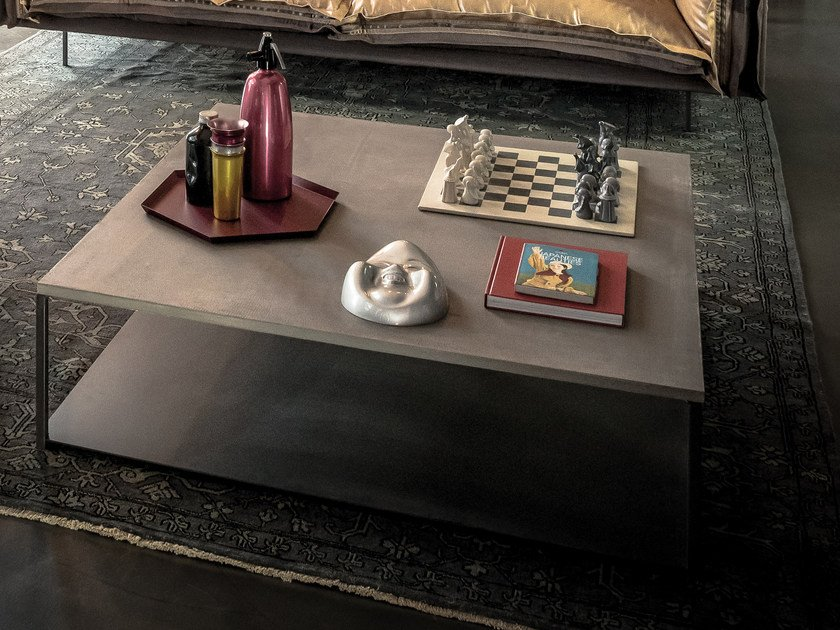 MDF coffee table for living room ISOLA   MDF coffee table by Arketipo