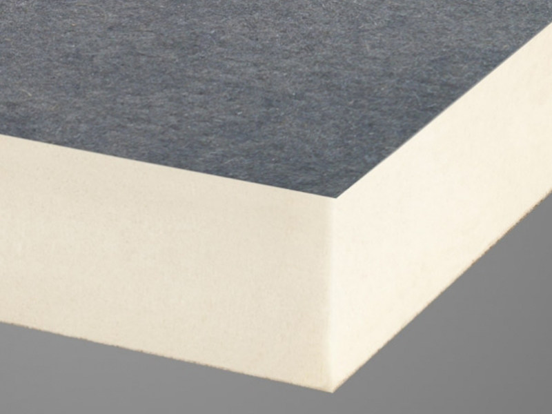 Polyiso foam thermal insulation panel ISOLITE CFV by Isolmar