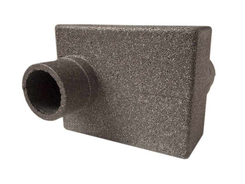 Acoustic attenuators for ventilation holes ISOLMANT JUNIOR BOX by Isolmant
