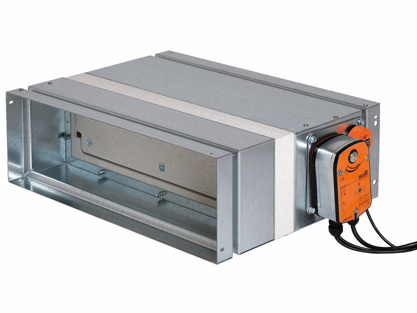 System to protect against fire penetration Rectangular ISONE with BF/BLF mover by ALDES