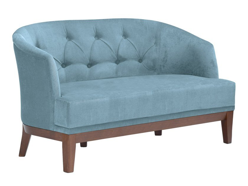 Tufted fabric small sofa ISOTTA DI02 by New Life
