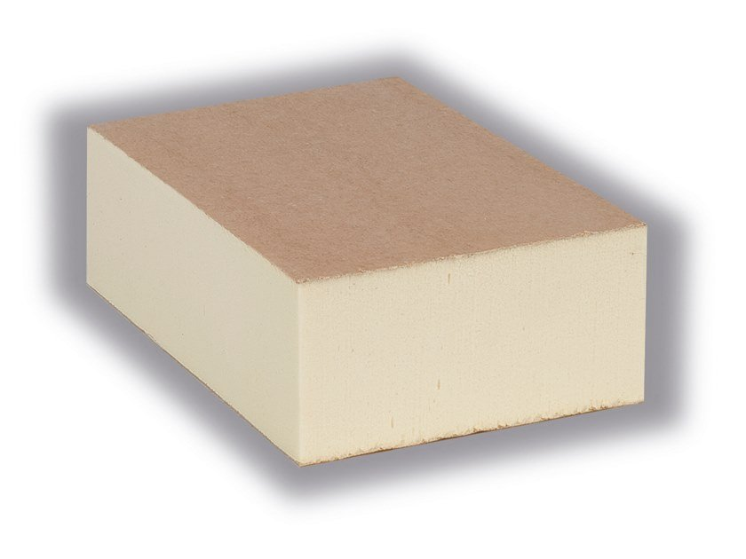 Polyiso foam thermal insulation panel ISOVER PIR PLUS by Saint-Gobain ISOVER