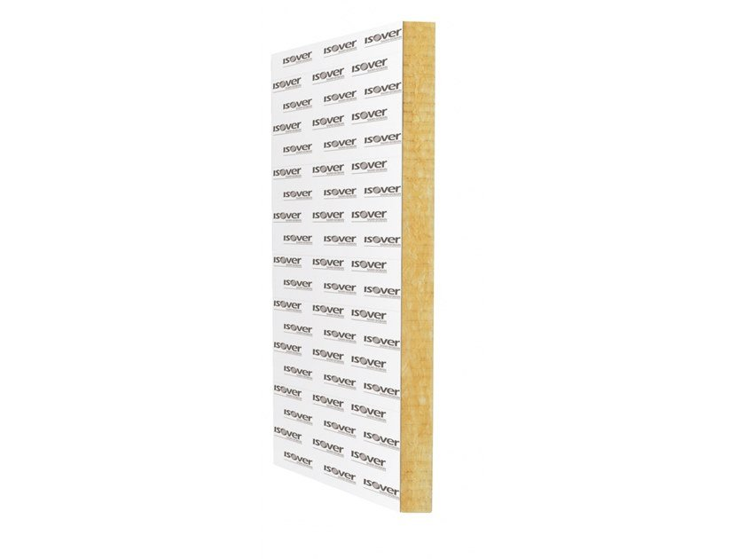 Glass wool Thermal insulation panel ISOVER SUPERBAC 112,5 ROOFINE by Saint-Gobain ISOVER