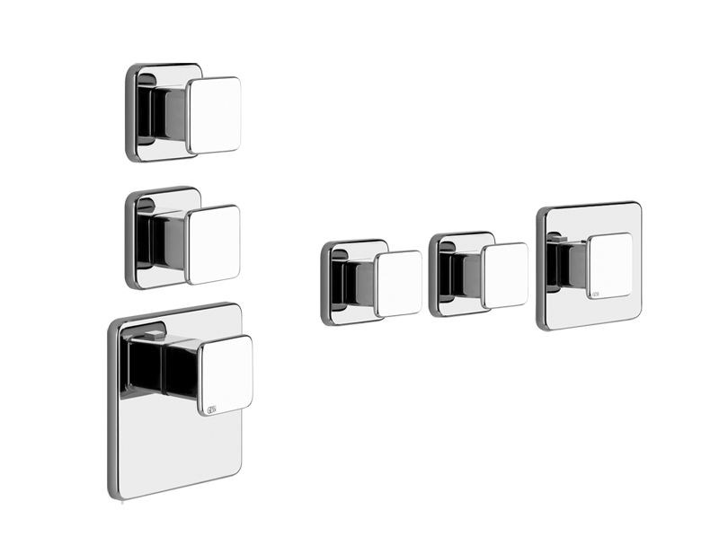 3 hole shower tap ISPA PRIVATE WELLNESS 41534 by Gessi