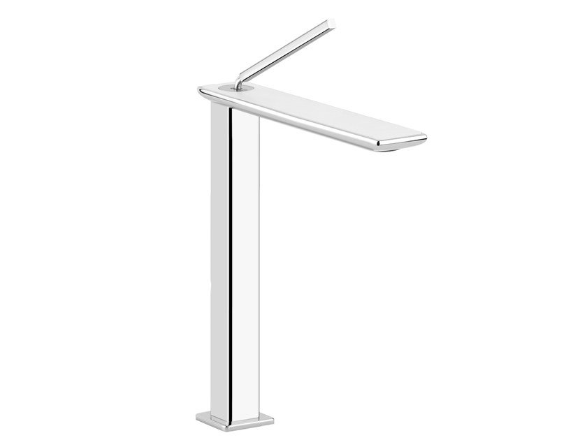 Countertop washbasin mixer ISPA WHITE 41203 by Gessi