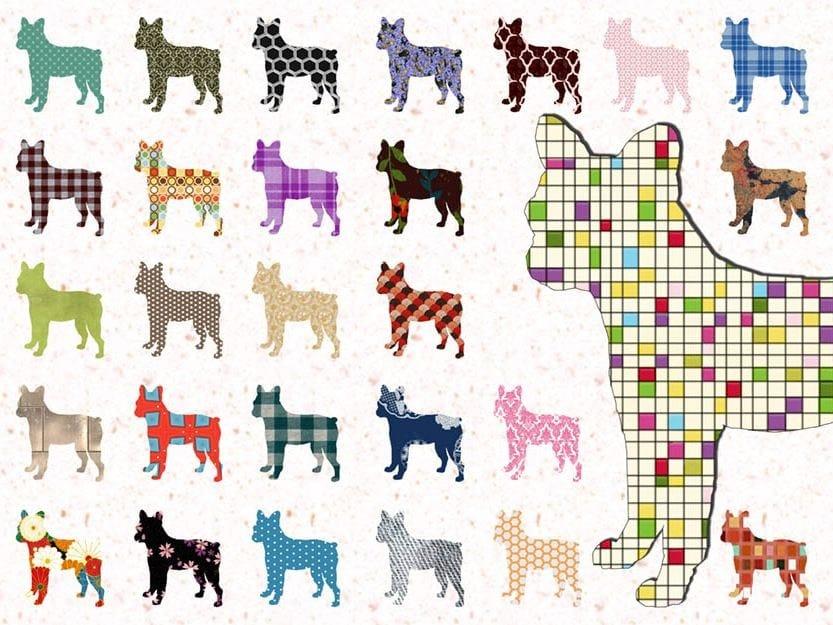 Wallpaper IT'S RAINING DOGS by Wallpepper