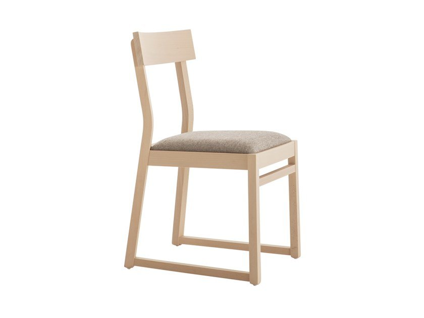 Beech chair ITALIA 439A.i1 by Palma