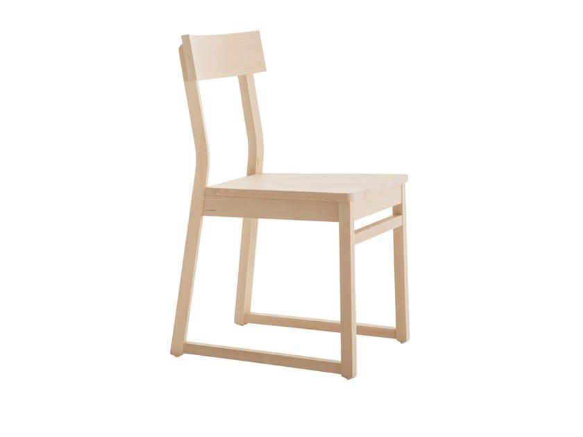 Beech chair ITALIA 439A.m2 by Palma