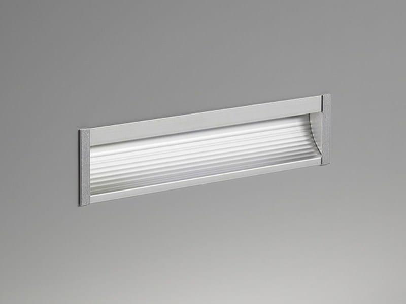 Segnapasso a LED a parete in alluminio ITINERE by PURALUCE