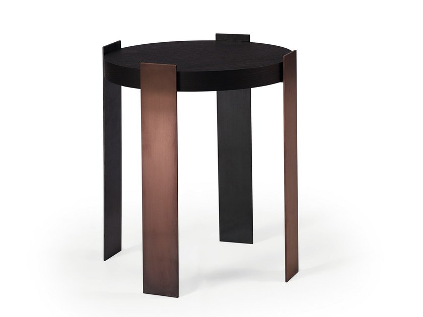 Round side table IVE | High side table by HMD INTERIORS