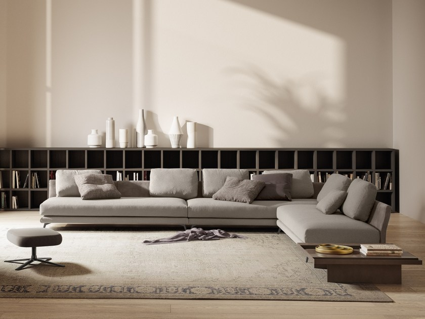 Corner sectional fabric sofa IVES   Corner sofa by JESSE