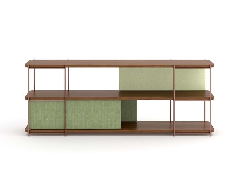 Modular walnut furniture JULIA JA02 by Momocca