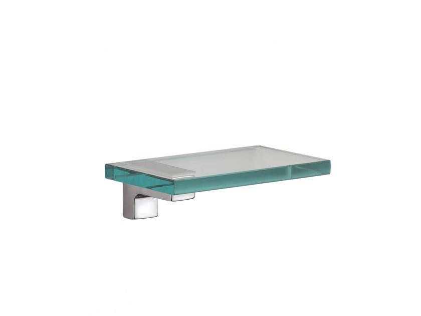 Float glass bathroom wall shelf JACK 485020002 | Bathroom wall shelf by pomd'or