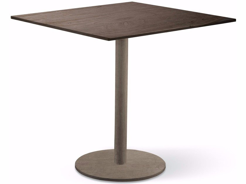 Square iron table JACK   Square table by Cantori