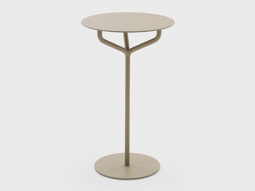 Round HPL high table JACK   High table by Viganò