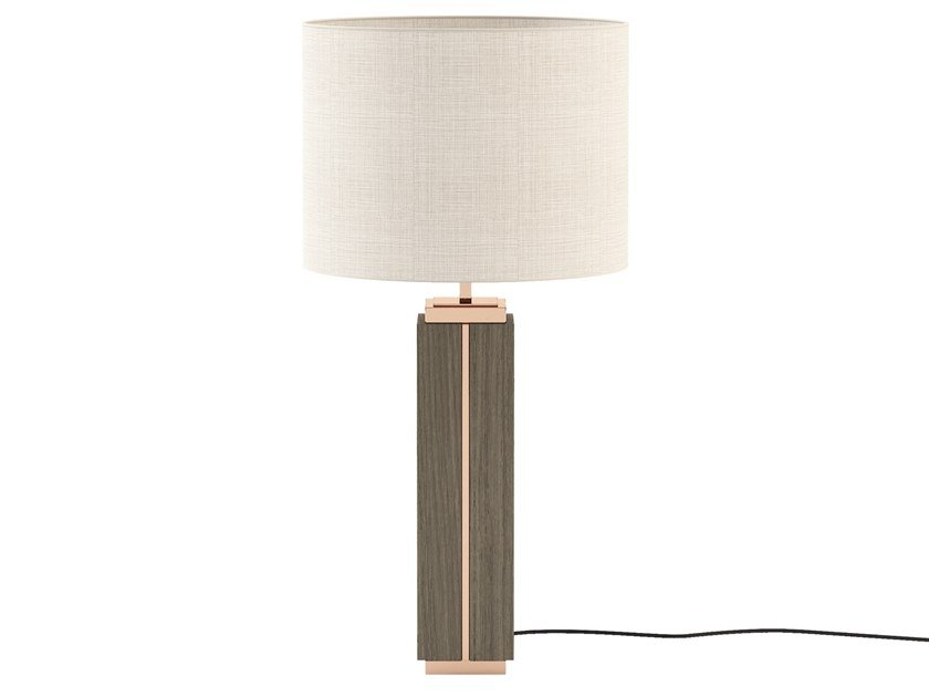 Direct-indirect light wooden table lamp JACK | Wooden table lamp by Laskasas