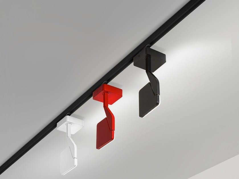 Illuminazione a binario a LED in alluminio JACKIE | Illuminazione a binario by PANZERI