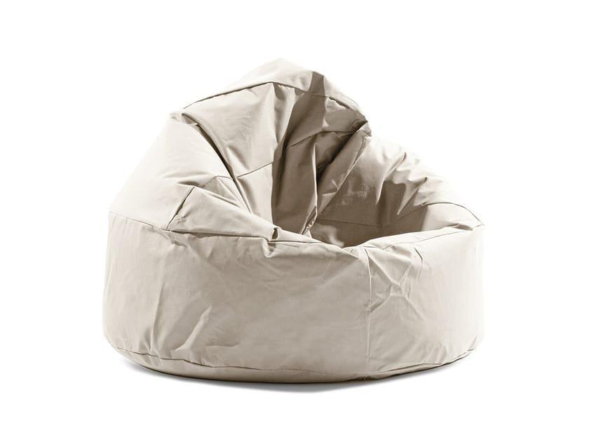 Upholstered polyester bean bag JAM by Atipico