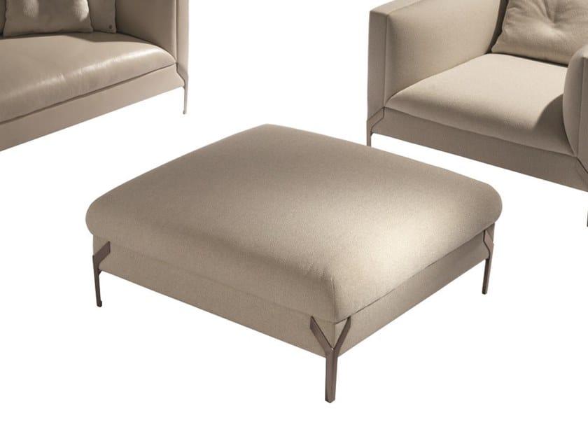 Square fabric pouf JAMBOREE | Pouf by Visionnaire