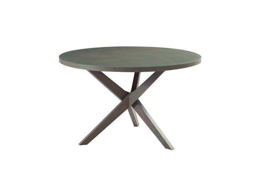 Round MDF dining table JANE | Round table by ROCHE BOBOIS