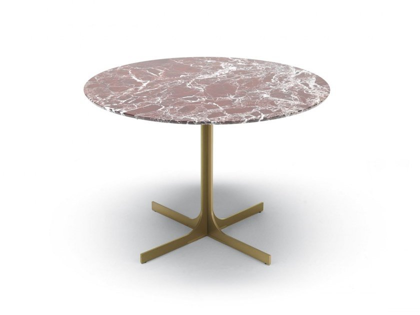 Round marble coffee table JANUS | Round coffee table by MisuraEmme