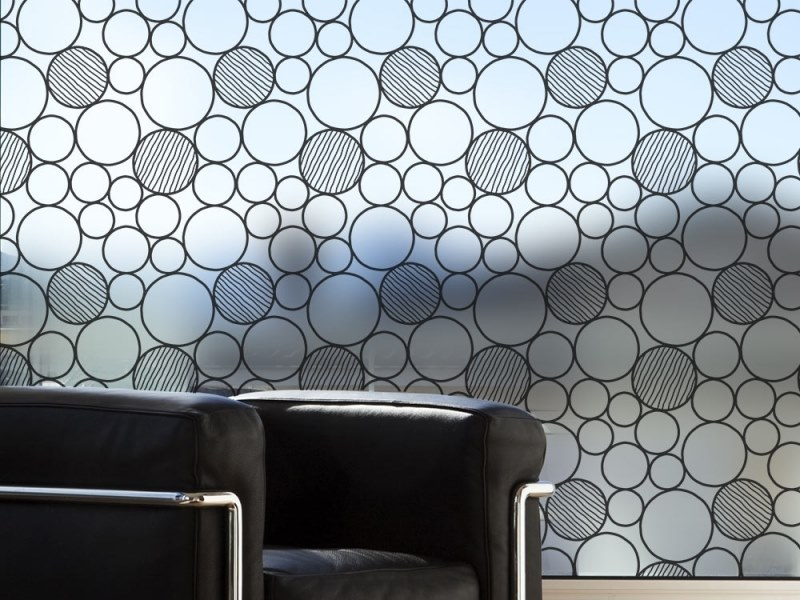 Adhesive decorative window film JAPAN by ACTE-DECO