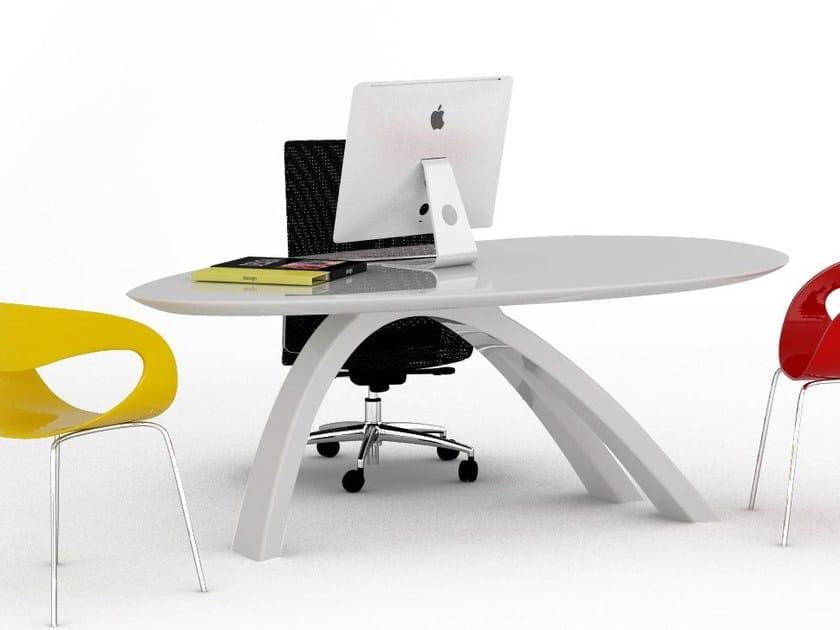 Adamantx® workstation desk JATZ II by ZAD ITALY