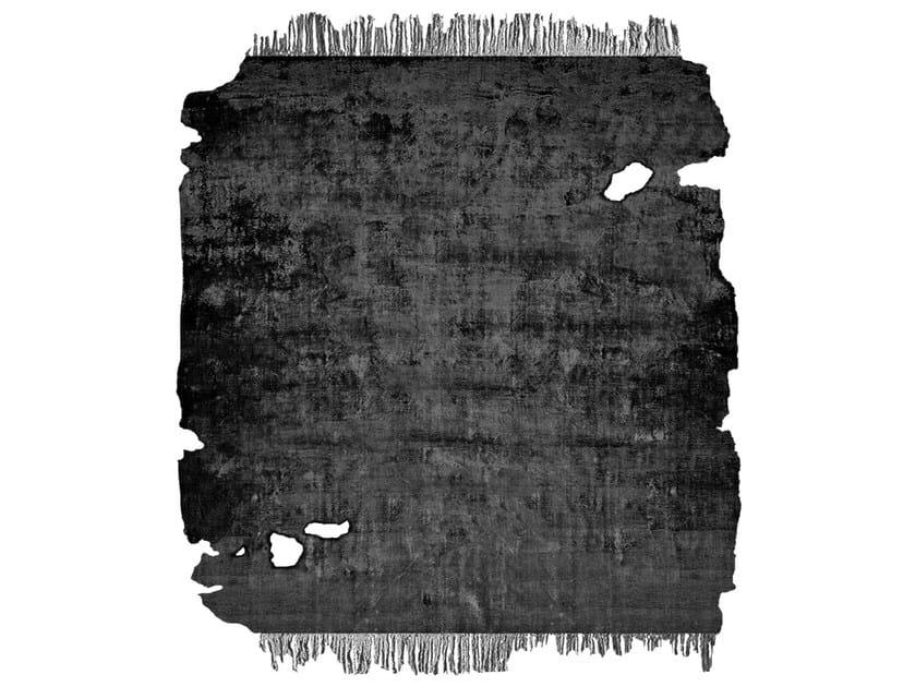 Handmade rug JAURE NIGHT FROZEN CUT by HENZEL STUDIO