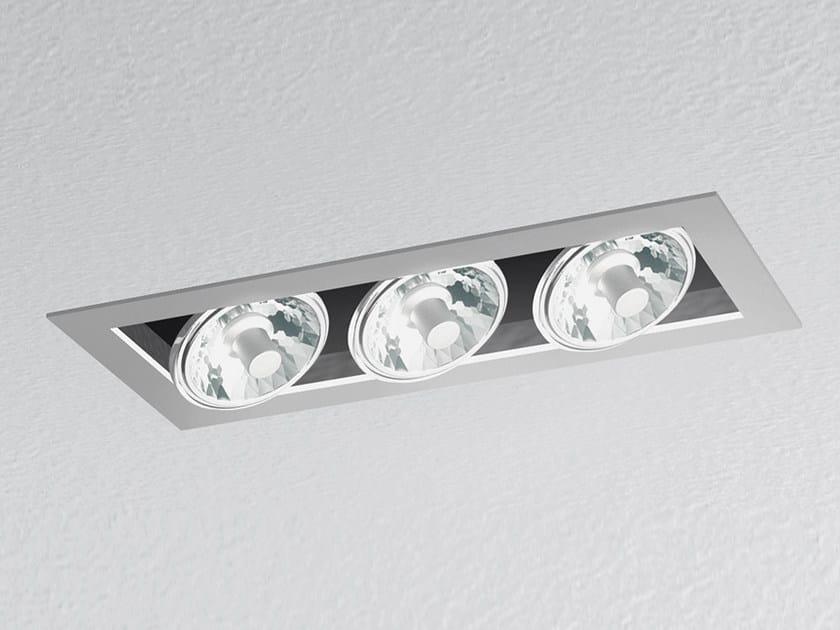 Faretto alogeno a soffitto da incasso JAVA HALO by Artemide