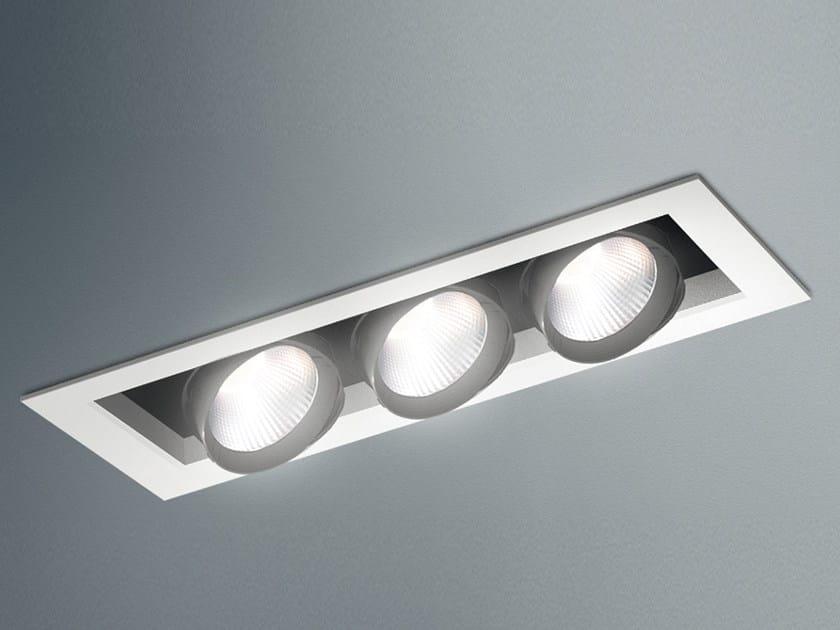 LED adjustable ceiling steel spotlight JAVA LED by Artemide