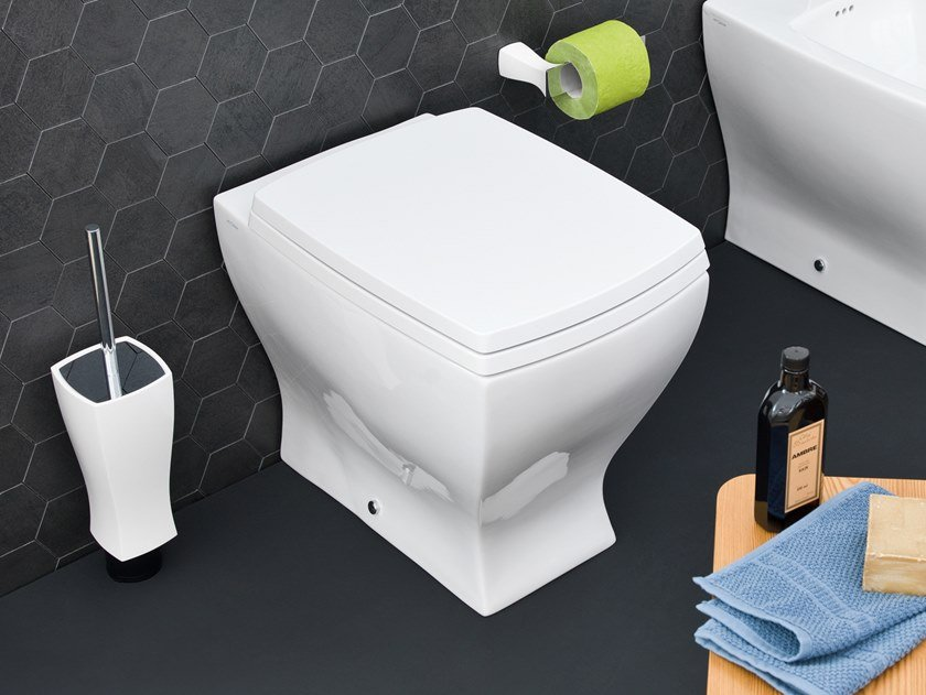 Floor mounted ceramic toilet JAZZ | Floor mounted toilet by Artceram