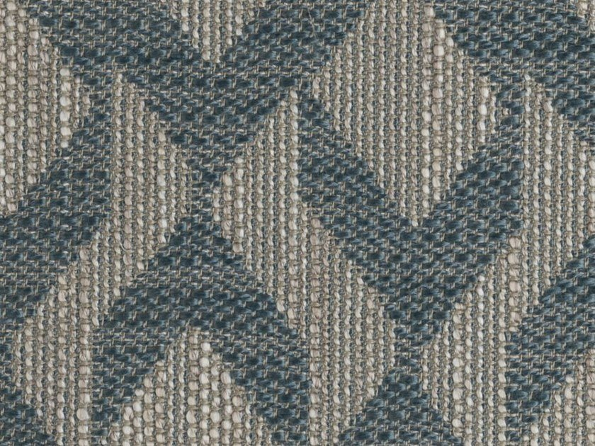 Fabric with graphic pattern JAZZ - HYDRO by Elastron