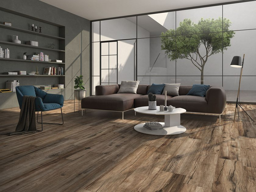 Porcelain wall/floor tiles with wood effect JAZZ by ITT Ceramic