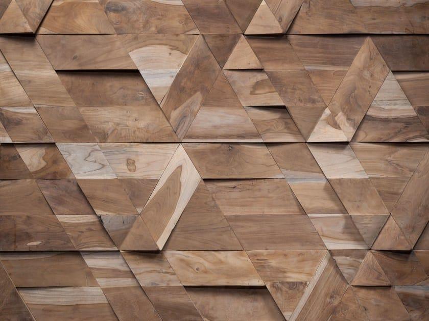 Wooden 3D Wall Cladding JAZZ by Wonderwall Studios