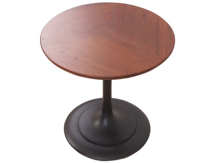 Round solid wood coffee table JEDINI | Coffee table by ALANKARAM