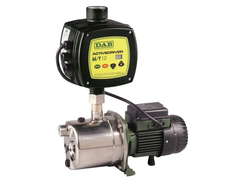 Automatic booster system with inverter JET-EURO WITH ACTIVE DRIVER by Dab Pumps