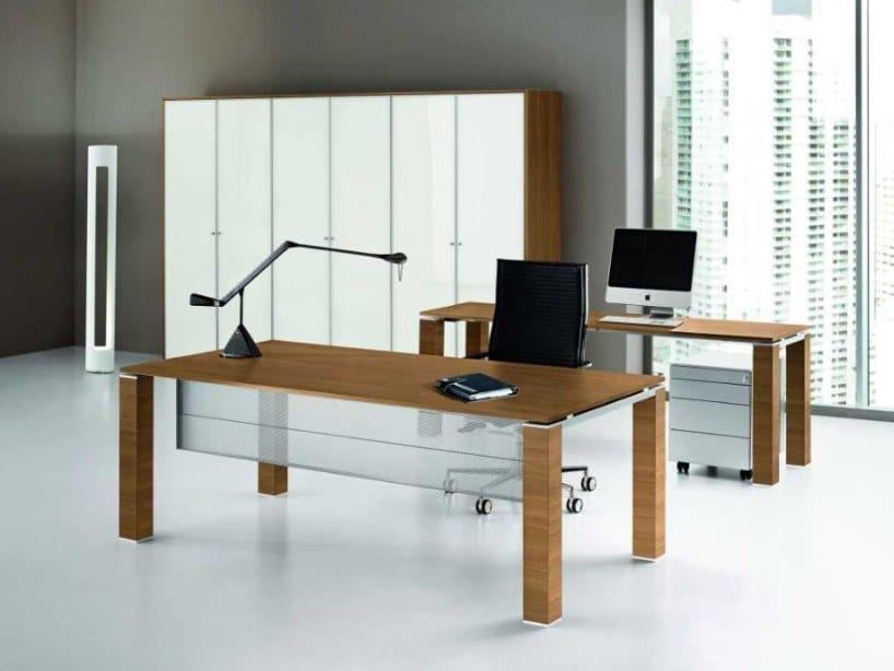 Rectangular office desk JET | Office desk by Bralco
