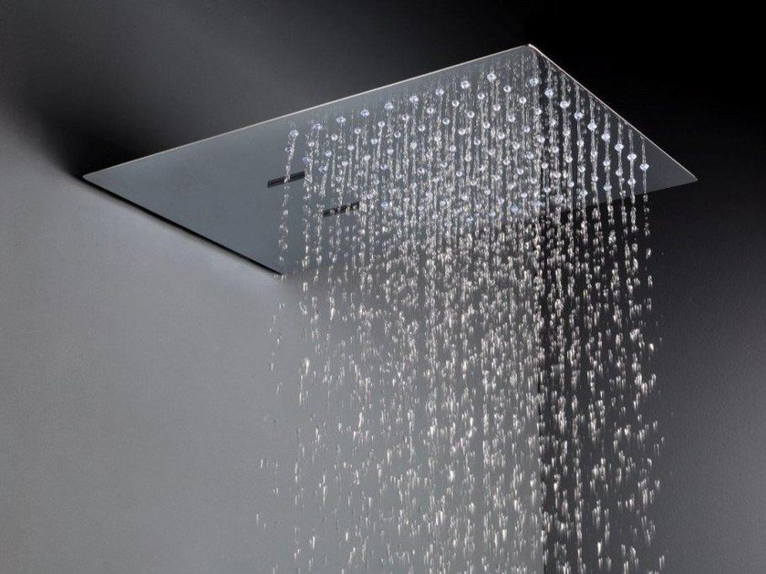Wall-mounted rain shower JETTO | Overhead shower by tender rain