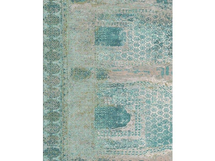 Handmade rectangular rug JHAROKHA ESK-9016 by Jaipur Rugs