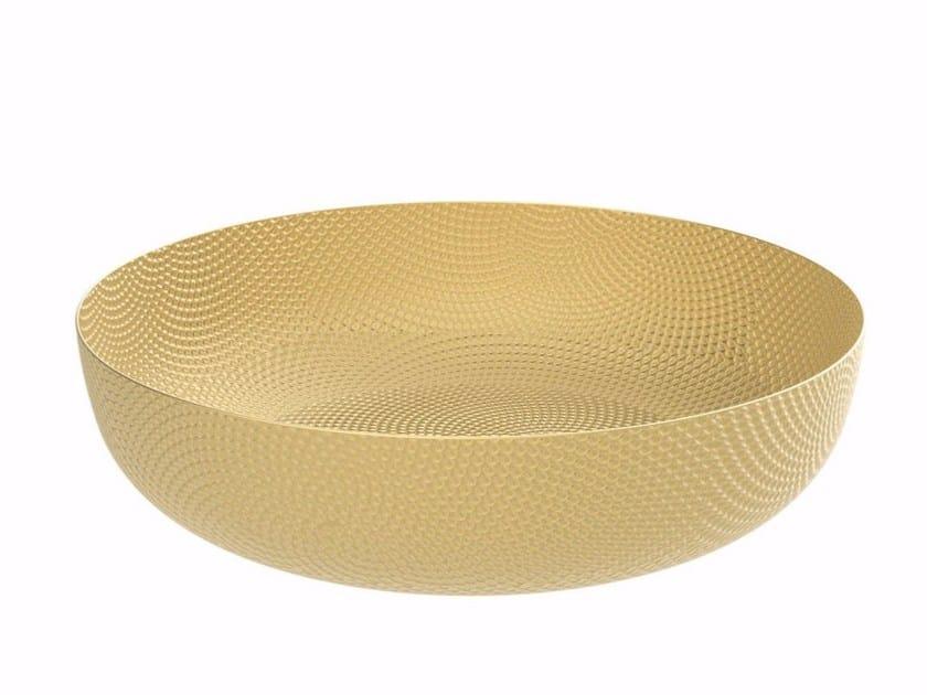Brass basket JM17 | Basket by Alessi