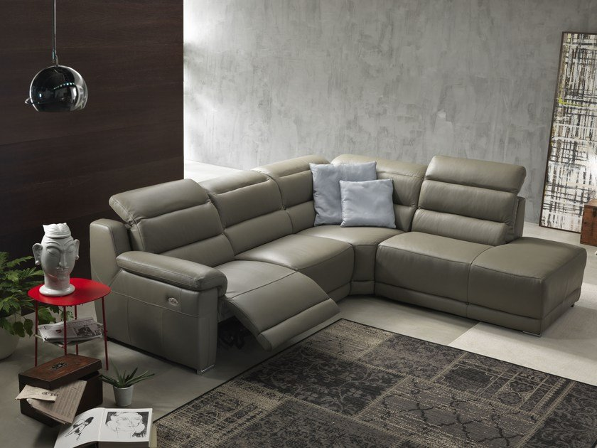 Sectional relaxing sofa JOANNE | Sectional sofa by Egoitaliano