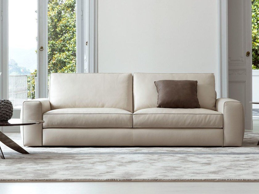 3 seater leather sofa JOEY | 3 seater sofa by BertO