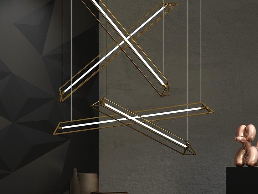 Lampada a sospensione in metallo JOIN - INCASTRO PERFETTO | Lampada a sospensione by Boffetto